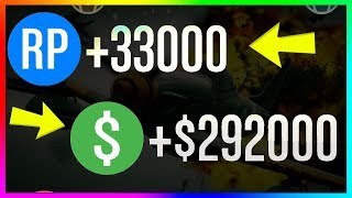 How To Make $290,000  33,000+ RP PER GAME in GTA 5 Online   NEW Best Unlimited Money Guide/Method