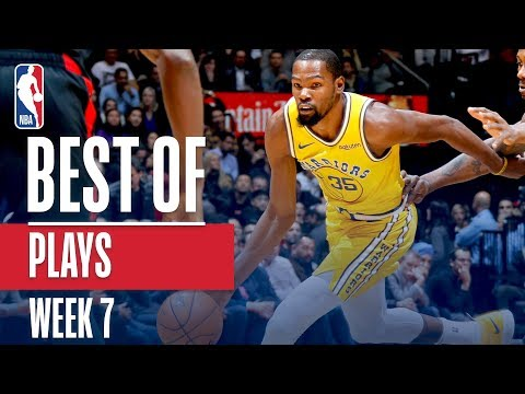 NBA's Best Plays | Week 7