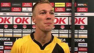INTERVIEW | Arno Verschueren na NAC - Panathinaikos (0-0)