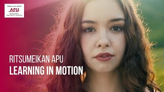 Ritsumeikan APU Learning In Motion