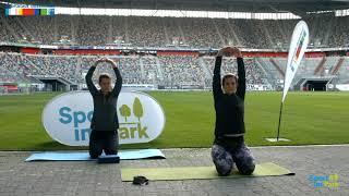 Fitness-Yoga mit Kristina