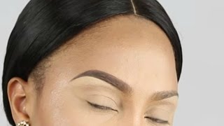Eyebrow tutorial/ perfect natural eyebrows-Detailed |THE BEAUTICIANCHIC