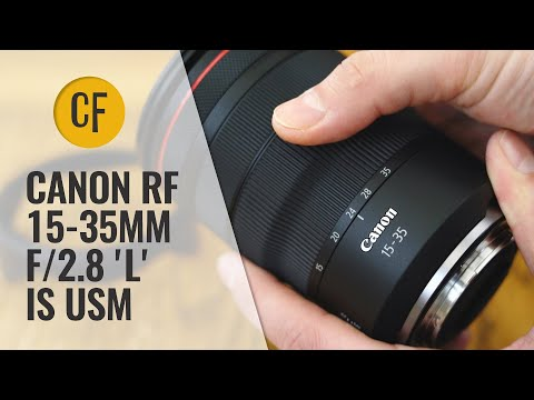 External Review Video mjSI2pfqH8A for Canon RF 15-35mm F2.8L IS USM Lens