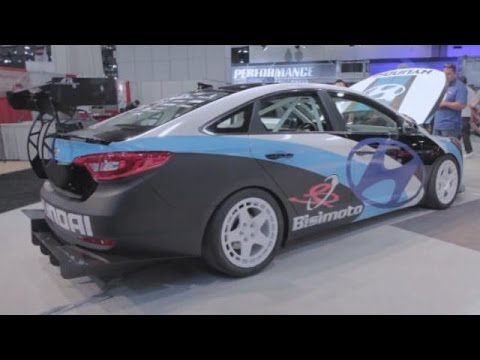 Hyundai tuner cars at SEMA 2014