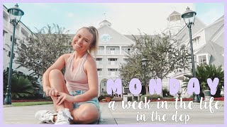 monday | week in the life in the disney college program