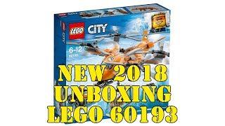 LEGO 60193 Arktis-Frachtflugzeug der LEGO City Arctis Expedition 2018 - Unboxing + Preview