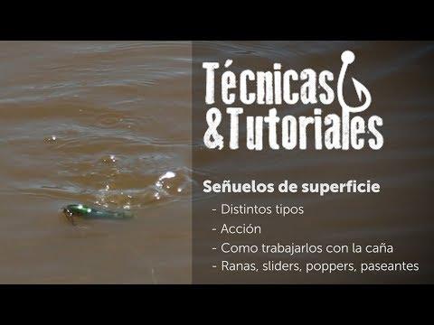 Técnicas y tutoriales - Señuelos de Superficie cap#2