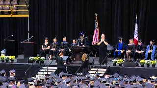 University of Iowa College of Liberal Arts & Sciences 1PM Commencement - May 16, 2015