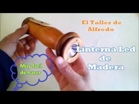 Linterna de Madera LED Final