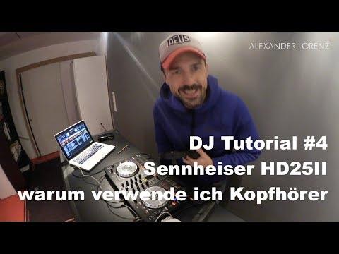DJ Tutorial #4 | Pioneer DDJ SB2 | Wie man Kopfhörer benutzt | Sennheiser HD25II