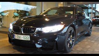 BMW M4 w/ Akrapovic Evolution + carbonfibre diffusor - (On board) redline accelerations & hard revs