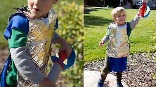 No Sew Knight Costume DIY Tutorial