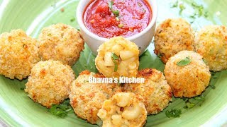 Air Fried Mac & Cheese Balls Video Recipe | Bhavna's Kitchen