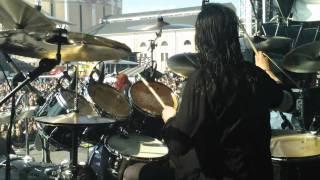 Pearl Artist Daniel Erlandsson/Arch Enemy Drum Cam Tuska 2011 - I Am Legend/Out For Blood