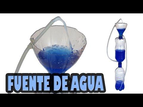 Como Hacer una Fuente de Agua Casera