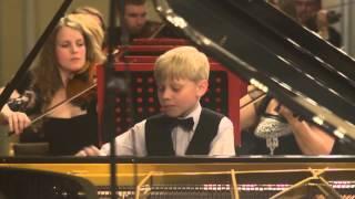 Malofeyev Aleksandr (Russia). Grieg. Concerto in A minor, II--III mov.
