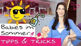 Sommer mit Baby - Teil 1: Darauf musst du im Sommer mit Baby achten!   Sommerbaby