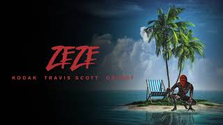 Descargar MP3 Kodak Black - ZEZE (feat. Travis Scott & Offset) [Official Audio]