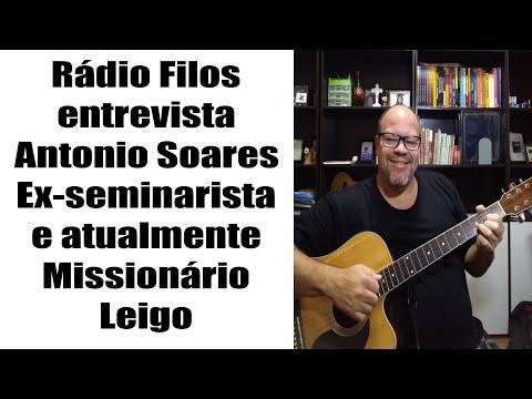 Entrevista com o ex-seminarista Antonio Soares que atua cm Missionário Leigo na periferia Grande BH