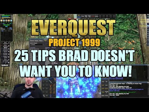 25 Tips to Improve Your Classic EverQuest Experience on