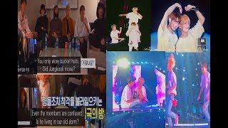Taekook living separately in the old dorm? + concert scenes (Taekook kookv analysis)
