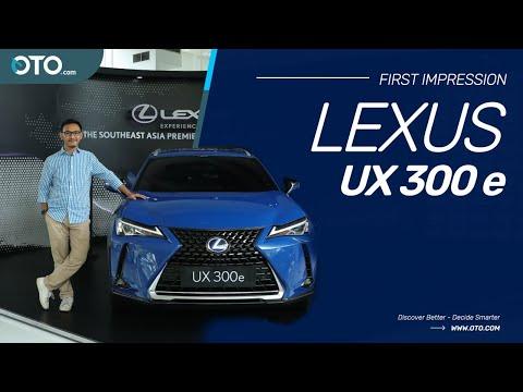 Lexus UX 300e, SUV Elektrik Murni Pertama