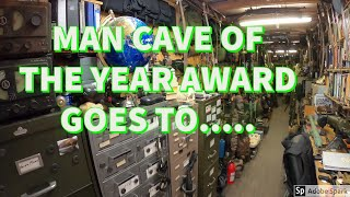 This Guys Man Cave Was Amazing!