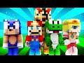 FNAF World - MARIO?! (Minecraft Roleplay) Day 4