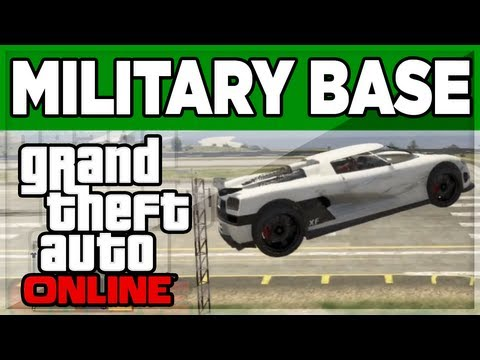 GTA 5 ONLINE - How To Enter The Military Base Mp3