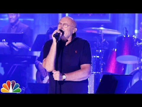 In the Air Tonight (live on The Tonight Show) - Phil Collins