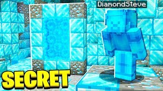 FOUND SECRET Diamond Steve MINECRAFT Portal!