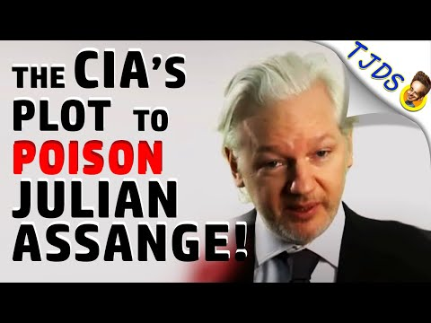 The CIA's Plot To POISON Julian Assange!