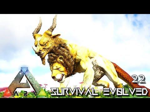 ARK: SURVIVAL EVOLVED - BALROG GIANT FIRE GOLEM MONSTER & DRAGON E30