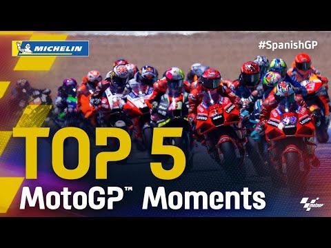 中上貴晶は4位 MotoGP 2021 第4戦スペインGP 決勝レースのハイライト動画