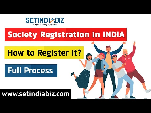 Video on Society Registration