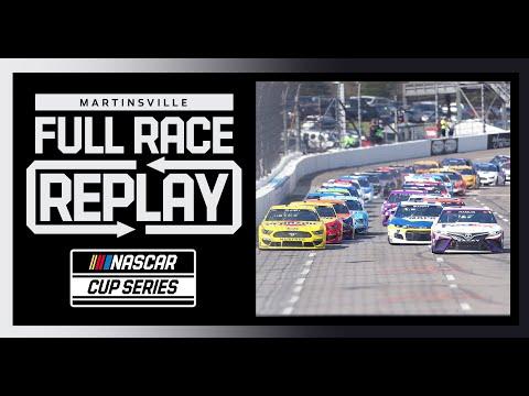 NASCAR ヴァージニア500(マーティンズビル・スピードウェイ)フルレース動画