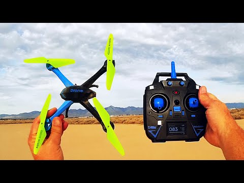 JJRC H98 Micro Camera Drone Flight Test Review