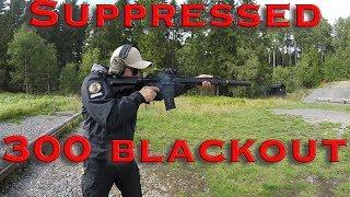 LMT AR15 - 300 blackout suppressed