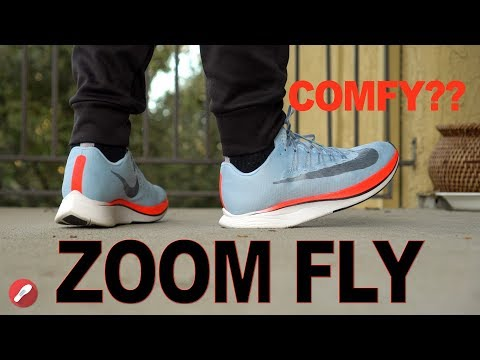 Nike Zoom Fly Review! Nike's Most Comfortable Shoe?!