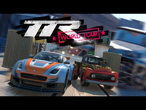 TABLE TOP RACING WORLD TOUR - Обзор