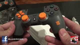 CoD Black Ops 3 PS4 Controller Unboxing & Review