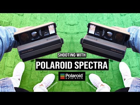 Shooting Polaroid Spectra Film