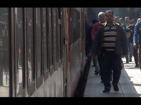إجراءات السكة الحديد لمواجهة أثار حادث«بني سويف»