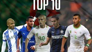 أحسن 10 مراوغات لمحترفي الجزائر في الدوريات العالمية ● 2015 | Top 10 DZ dribbles