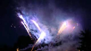 preview picture of video 'Feuerwerk Campotel Neptunfest 07. Juli 2012 in Bad Rothenfelde'