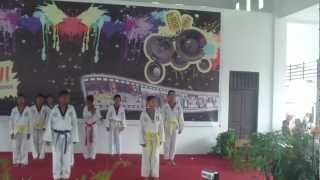 preview picture of video 'performance taekwondo team 29 samarinda'