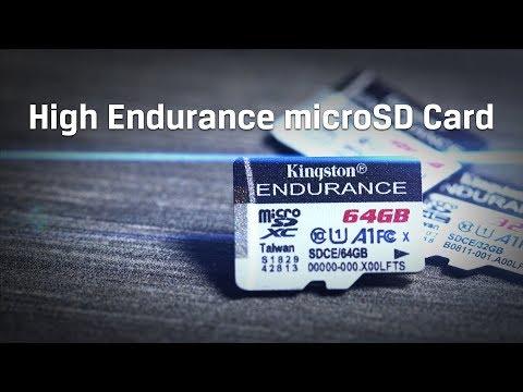 Tarjeta microSD High Endurance para cámaras de seguridad, cámaras de vehículos – Kingston Technology