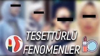 TESETTÜRLÜ FENOMEN YOUTUBERLARA TEPKİ! - Youtuberların Rezil Halleri! RİYA - Serkan Aktaş