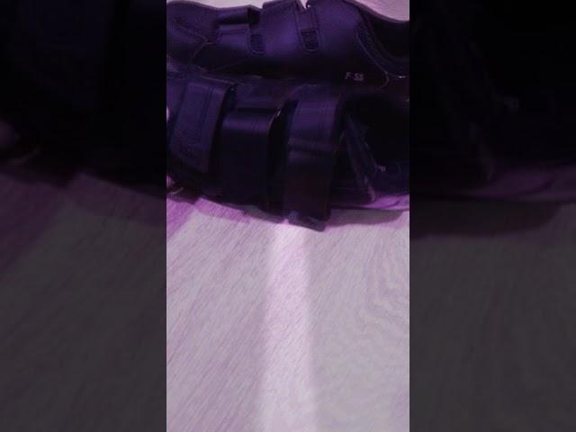 Видео Велотуфли FLR F-55 бело-черные