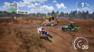MX vs. ATV All Out - GOAT Farm SX Upper 20 Laps